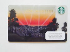 COLLECTABLE LIMITED EDITION LOS ANGELES LA STARBUCK GIFT CARD NEW NOT SCRATCHED