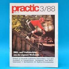 DDR practic 3/1988 BMX-Räder Schiebespiel Katamaran Pendelgrafik Drachen-Bau W