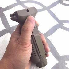 Forward Grip Vertical Foregrip Picatinny Weaver Rail style Grip tan