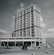 LE HAVRE  c. 1950 -Autos Barres d'Immeubles en Construction - Div 10002