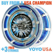 [NEW YEAR SALE] YoYoFactory FAST/F.A.S.T. 201 Yo-Yo - Blue + FREE DVD + STRINGS