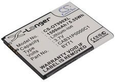 3.7V battery for Alcatel One Touch 990 Carbon, OT-990, OT-918D, One Touch 908