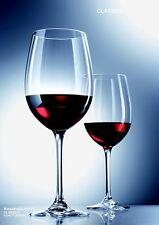 6 ROTWEIN-GLÄSER 408 ml SCHOTT ZWIESEL CLASSICO  8213/0   Wein-Glas KRISTALLGLAS