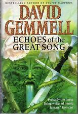 David Gemmell ECHOES OF THE GREAT SONG Bantam 1997 First Edition hardcover