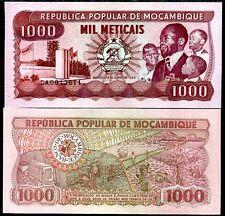 MOZAMBIQUE 1000 1,000 METICAIS 1989 P 132 UNC