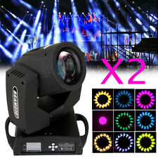2X 230W Spot Bühnenlicht Disco Bar Leuchte DJ DMX Moving Head Light Lampe Licht