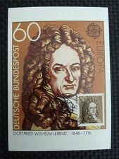 BUND MK 1980 1050 EUROPA CEPT MAXIMUMKARTE CARTE MAXIMUM CARD MC CM c2633