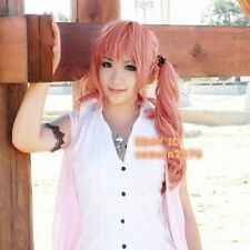 Final Fantasy XIII Serah Farron Long Pink Cosplay Hair Wig