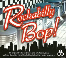 ROCKABILLY BOP! - 3 CD BOX SET - JOHNNY BURNETTE, HANK MIZELL & MORE