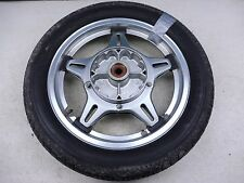 1978 Honda CB750F CB 750 Super Sport H910-4' rear wheel 18in Comstar NICE