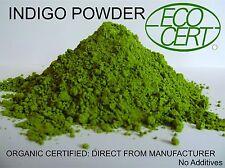 PURE INDIGO LEAVES POWDER FOR BLACK HAIR DYE ORGANIC 1 Kg 2.2 lbs