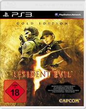 Playstation 3 RESIDENT EVIL 5 GOLD EDITION DEUTSCH *Sehr guter Zustand