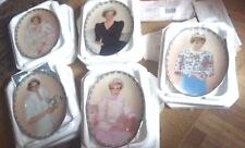PRINCESS DIANA PLATES FROM BRADFORD EXCHANGE QUEEN OF HEARTS SERIES SET OF 5