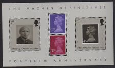 GB 2007 40th Anniversary Machin Miniature Sheet  MS2743