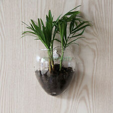 Mouse Shape Glass Wall Hanging Vase Hydroponic Container Fish Tank Wedding Decor