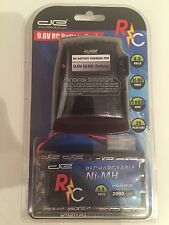 NEW Digital Energy RC Radio Controlled Rechargeable 9.6V Battery & Charger NI-Mh