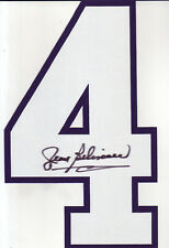 Jean Beliveau Signed NHL Montreal Canadien Jersey number 4