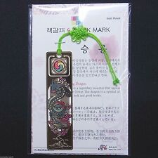Korea Beauty Metal Bookmark Traditional Reading Gift Flying Dragon F/S