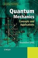 Quantum Mechanics: Concepts and Application 2nd Edition