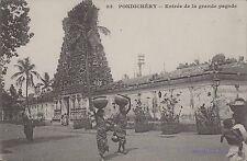 INDIA PONDICHERY ENTREE DE LA GRANDE PAGODE 83