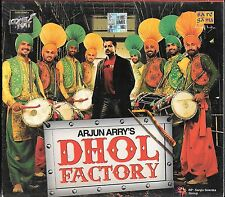 ARJUN ARRY'S DHOL FACTORY - NEW BOLLYWOOD CD - FREE UK POST