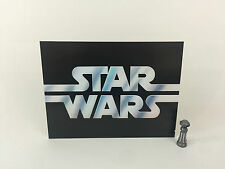 "Vintage Star Wars large logo backdrop For Display 16"" x 12"""