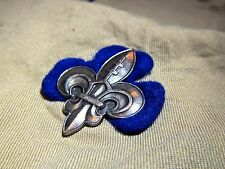 National SCOUT PROMISE BADGE Fleur de Lise from SLOVKIA