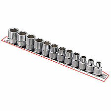 """New 3/8"""" Driver Sockets Rails Sockets Holder with 12pcs Clips Rack-312"""