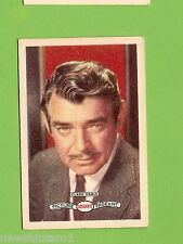 #D160. 1958-64  ATLANTIC PETROLEUM FILM STARS CARD #6  CLARK GABLE
