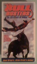 BULL BUSTERS the all stars of rodeo      VHS VIDEOTAPE NEW