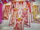 USA Seller Cosplay Anime Card Captor Sakura The Pink Clow with 56 Tarot Cards