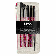 NYX Cosmetics- ESSENTIAL EYE BRUSH SET Authentic