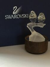 SWAROVSKI SCS LOVEBIRDS / LOVE BIRDS  on DEALER DISPLAY STAND