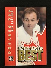 GUY LAFLEUR INSERT RETRO CANADAS BEST DECADE 80'S IN THE GAME 2011 HOCKEY CARD