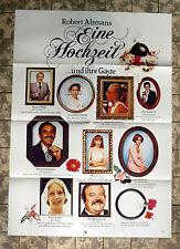 EINE HOCHZEIT / A WEDDING * A1-FILMPOSTER Motiv B - German 1-Sheet ´79 ALTMAN