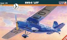 "RWD 5 ""LOT"" (POLISH AIRLINES MARKINGS)  1/72 MISTERCRAFT (pzl)"