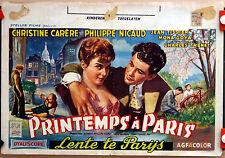 C Carère : Philippe Nicaud : Printemps A Paris : POSTER