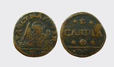 CANDIA - ANONIME DI VENEZIA PER ARMATA E ISOLE -AE/ SOLDO 9/8/1643  MOLTO RARA !