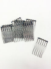 Hair Bow Comb Craft Supply Material Steel High Quality Japanese Style 13pc
