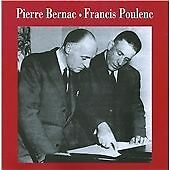 Pierre Bernac And Francis Poul, Poulenc/Ravel/Chabrier/Debussy, Very Good