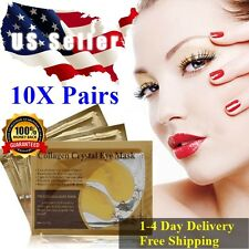 10X Pairs Anti-Wrinkle Dark Circle, Collagen Under Eye Patches Pad ❤️ US SELLER