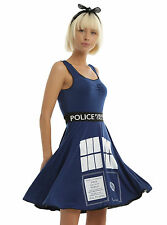 BBC DOCTOR WHO TARDIS COSPLAY DRESS - Doctor Who Dress - Large