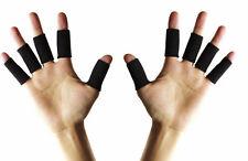 10x Tutore Fasce Protezione Elastico Dito Dita Mano Artrite per Basket Pallavolo