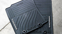 2012-2013 TOYOTA Tacoma Regular NEW FACTORY GENUINE ALL WEATHER FLOOR MATS BLACK