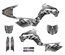 KLX140 graphics deco kit for Kawasaki 2008-2014 #2500 Metal