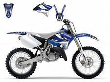 BLACKBIRD YAMAHA YZ 125 2004 2005 KIT GRAFICHE ADESIVI DREAM 3 NERO BLU GRAPHICS