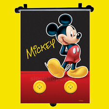 Disney Mickey Car Window Roller Blind Sun Shade Children Kids Baby Boy Girl 1pc