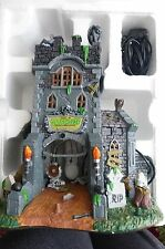 Lemax Spooky Town The Gate House at Haunted Meadows, Lighted Building