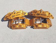 AP RACING BRAKE CALIPERS 4 PISTON FRONT AND REAR CP500 GENUINE OEM BURNT COPPER