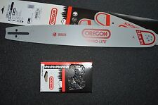 "Oregon 18"" chainsaw guide bar .325 pitch 188SLGK095 & 1 21LPX072G chain"